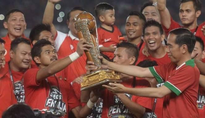 Saat Bepe Kehilangan Medali Juara Piala Presiden