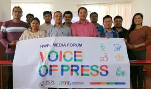 Jurnalis Nepal Bahas  Tanggung Jawab Media untuk Pembangunan Perdamaian Global