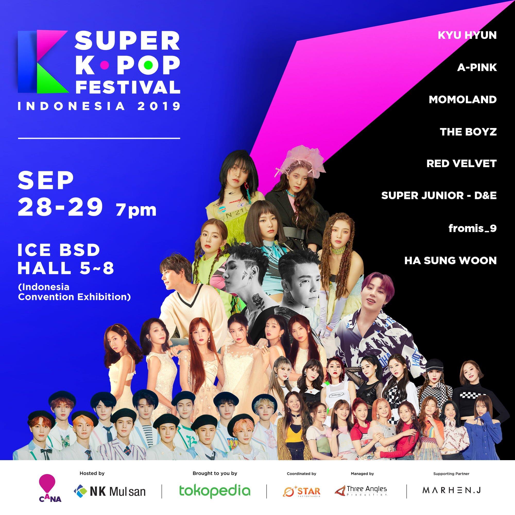 Super K-Pop Festival Berakhir Meriah.