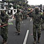 Doblestick Prajurit Guntur Geni Tampil Di  Karnaval Pembangunan