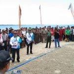 Turnamen Voli Pantai Meriahkan SAIL Nias Di Pantai Tagaule Onolimbu