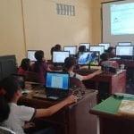 Berkat Dana Desa, Pelajar Tingkat SD Dan SMP Desa Faekhu Belajar Komputer Gratis