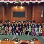50 Anggota Dewan Perwakilan Rakyat Daerah (DPRD) Depok Resmi Dilantik