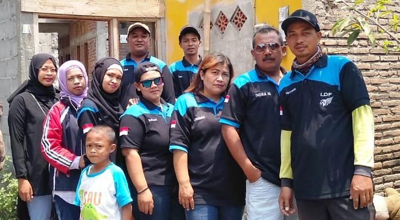 Giat Sosial LDF Renovasi Rumah Satari