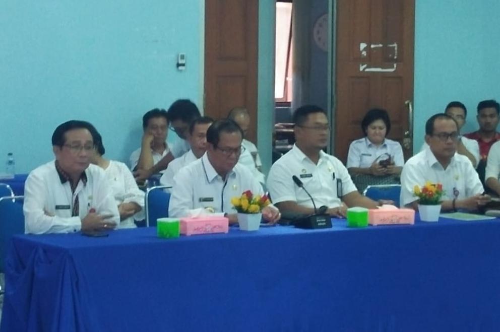 Bupati Nias Membuka Secara Resmi LIPD Kabupaten Nias Pertama Di Sumatera Utara