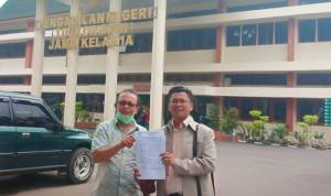 Kuasa Hukum Sampaikan Kontra Memorasi Kasasi Sidang Perkara Pembangunan SMK Agribisnis Tanjung Jabung, Jambi