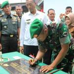 Letkol Sidik Wiyono Resmikan Musholla AlIkhlas