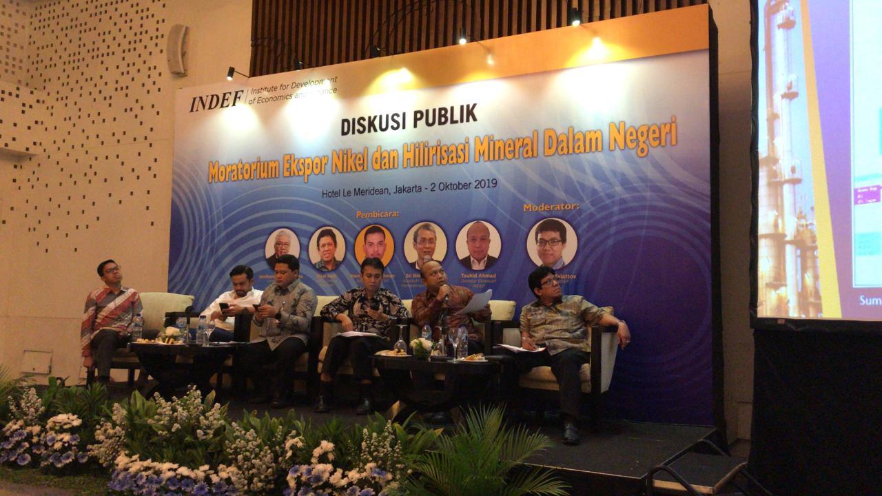 Diskusi Publik: Moratorium Ekspor Nikel dan Hilirisasi Mineral Dalam Negeri
