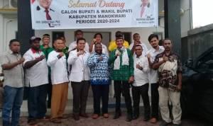 Sius dan Sirajudin Kantongi Dukungan dari Partai Non Sit Untuk Pilkada Kab Manokwari