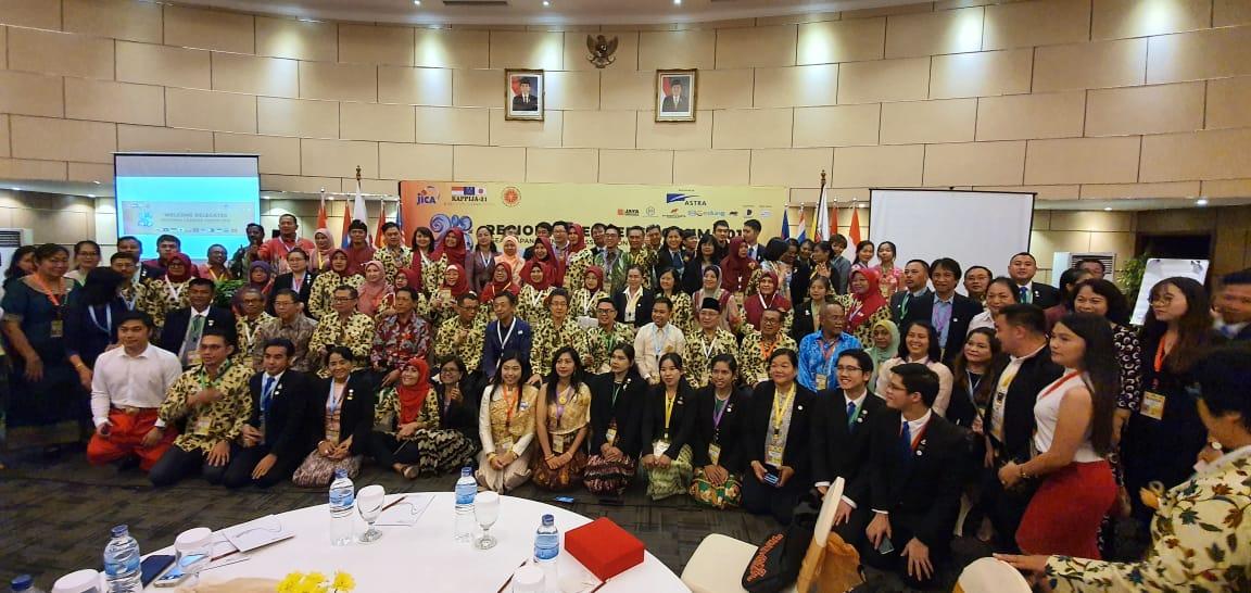 Chief Representative JICA Indonesia Hadir dan Buka RLF di Bali