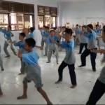 Sambut Rekor MURI, Gladi Tari Soreng SMP MUHAMADIYAH Muntilan