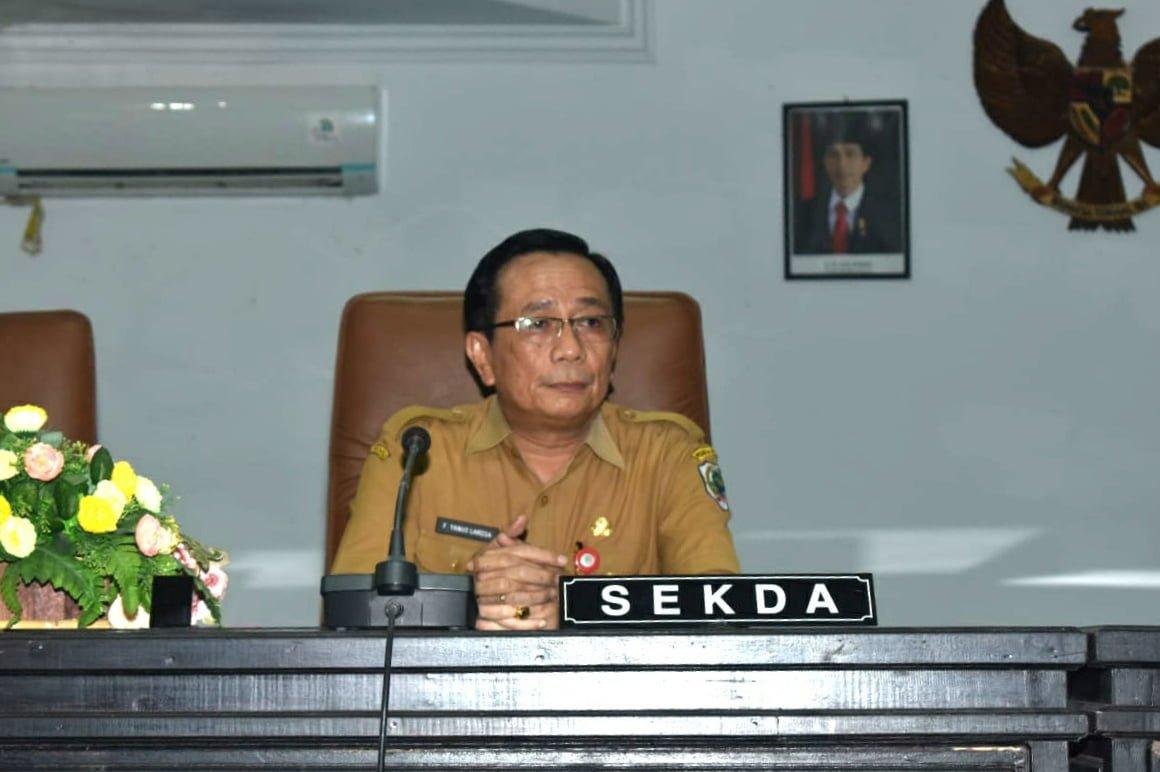 Sekda Kabupaten Nias Ucapkan Selamat Dan Sukses Kepada Yasonna Laoly