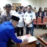 Dihadiri Brigjenpol Victor Pudjiadi, Wilson Lantik Pengurus PPWI Kota Depok