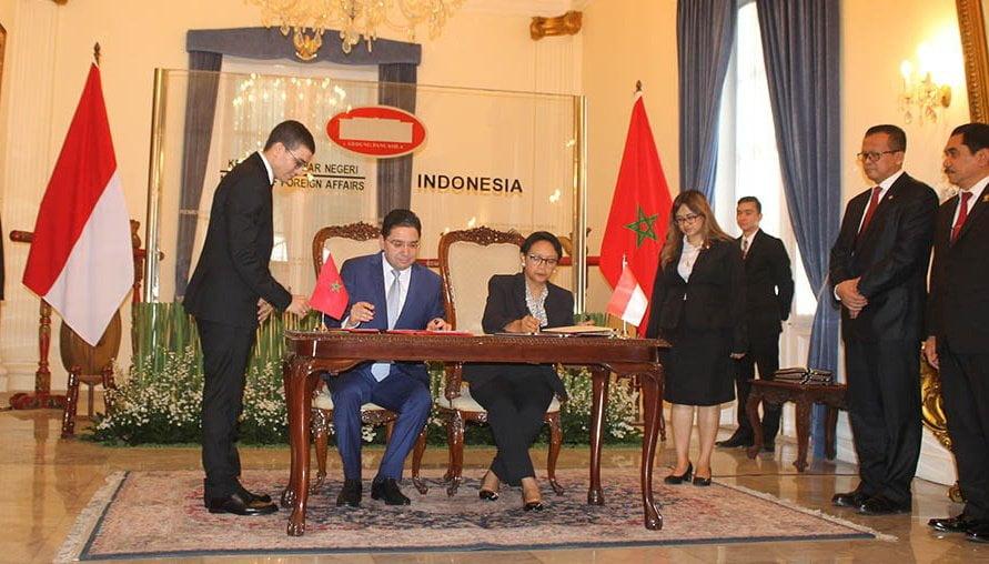 Tingkatan Kerjasama Berbagai Bidang, Menteri Luar Negeri Maroko Kunjungi Indonesia