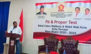 DR.Saiful Ahmad, M.Si Optimis Maju Walikota Ternate 2020
