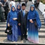 Dilantik Sebagai Anggota DPR RI Periode 2019-2024, Lora Fadhil Didampingi Oleh 3 Istri Cantik