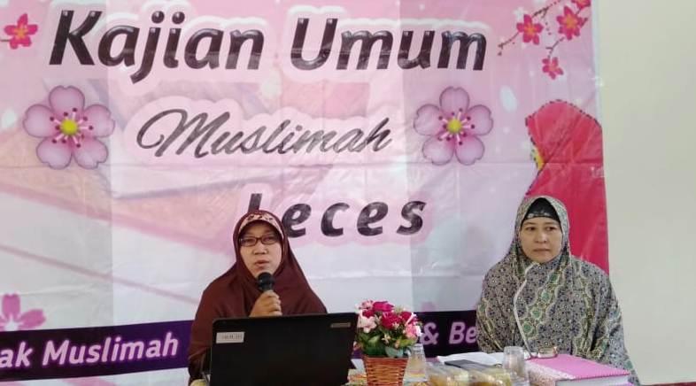 """Majlis Taklim Muslimah Leces Gelar Kajian Bertema """"Menghadapi Fitnah Akhir Zaman"""""""