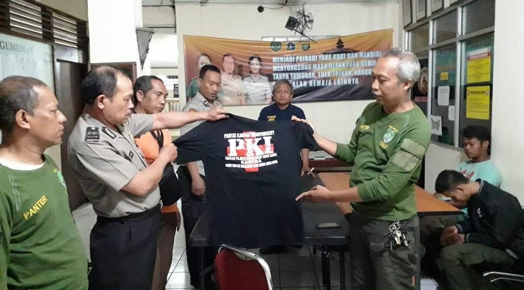 Kenakan Kaos Bertuliskan PKI, Seorang Pemuda Diamankan Team Panter Koramil 02/MP