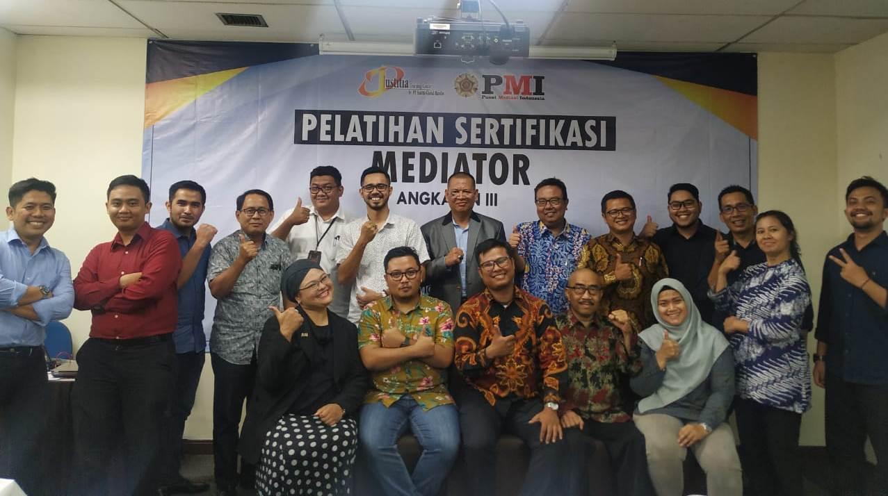 Siapkan Mediator Handal, Justitia Training Center Selenggarakan Pendidikan Dan Pelatihan Mediator Umum Bersertifikat Angkatan Ke – III