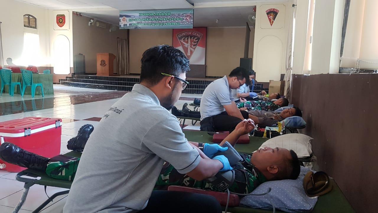 Setetes Darah Yang Sangat Berharga Di Yonarmed 11 Kostrad