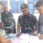 Anggota TNI Dapat SIM Gratis Dari Sat Lantas Polres Sinjai Di HUT TNI Ke- 74