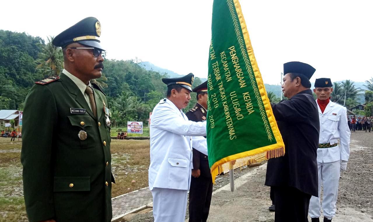 Kecamatan Ulugawo Raih Peringkat Pertama Kecamatan/Camat Terbaik 2019