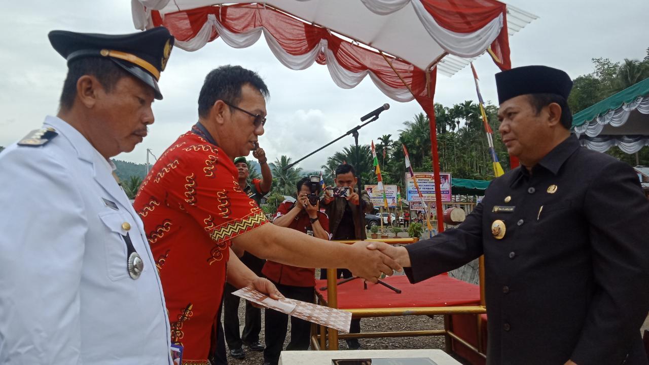 Raih Terbaik I, Kecamatan Ulugawo Terima Kado Istimewa Dari Pemerintah Kabupaten Nias