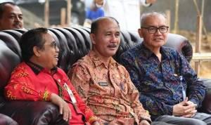 Wakil Bupati Nias Hadiri Peletakan Batu Pertama Kantor PT. Taspen