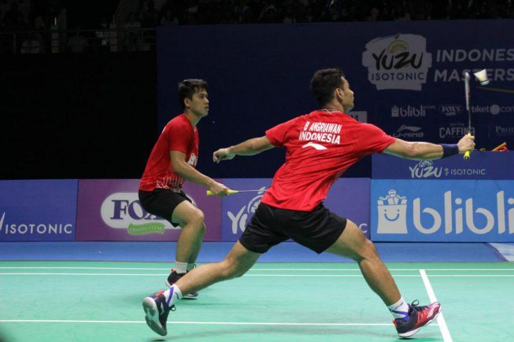 Yuzu Indonesia Masters 2019: Ganda Putra Belum Berhasil Kirim Wakil Ke Final