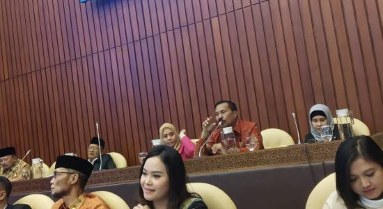 Rapat Komisi IV Bersama Menteri Pertanian, Abdullah Tuasikal Memohon Agar  Menteri Perhatikan Maluku