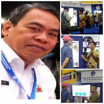 AH: Dinas Kominfo SP perkenalkan Berbagai Inovasi di Sulsel Expo