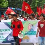 Tolak Kenaikan BPJS, LMD Gelar Unjuk Rasa Di Depan Istana