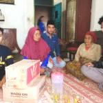 Peduli Sesama, Radio Trisara FM Bantu Warga Sukatani, Cianjur