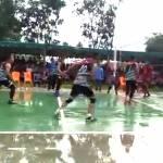 Tim Kecamatan Hiliserangkai Keluar Sebagai Juara Pertama Pada Turnamen Bola Voli Karang Taruna Cup