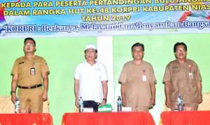PNS Lingkup Pemerintah Kabupaten Nias Sambut HUT Ke-48 Korpri Dengan Berbagai Kegiatan