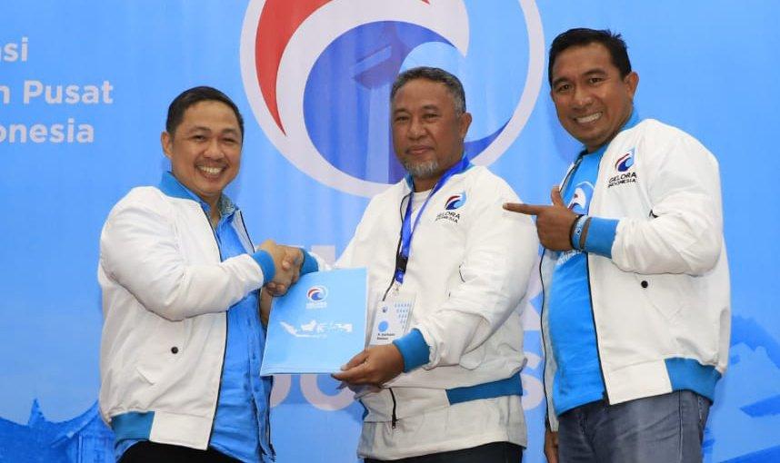 Saifudin D. Soleman dan Saiful Ahmad Resmi Pimpin Partai Gelora Indonesia Provinsi Maluku Utara.
