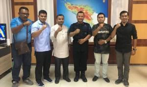 Pengurus PPWI Lhokseumawe Audiensi Dengan Waka Polda Aceh