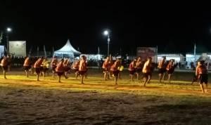 Kontingen Kabupaten Nias Berhasil Curi Perhatian Pengunjung Ya'ahowu Nias Festival