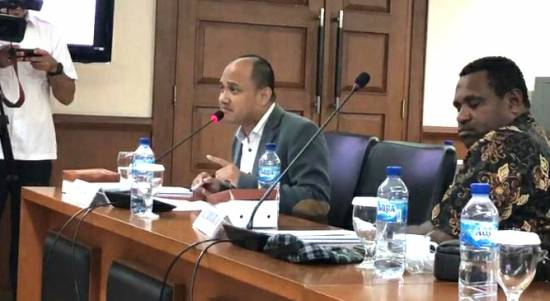 "Senator Fachrul Razi : "" Sudah Saatnya Papua Miliki Partai Lokal"""
