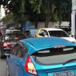 Jalan Bangka Raya Menuju Kemang Macet Total