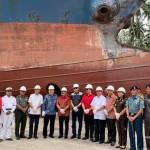 Sokhiatulo Laoli Hadiri Acara Peresmian Galangan Kapal PT. Cahaya Baru
