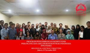 PAHKI Gelar Diskusi Pentingnya Pengembangan Dan Kemampuan Bilingual Contract Drafting