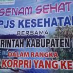 BPJS Kesehatan Dan Pemerintah Kabupaten Nias Senam Bersama