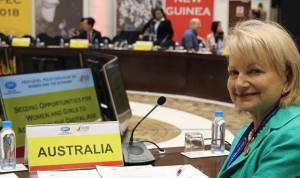 Dr. Sharman Stone, Duta Besar Australia Untuk Perempuan Dan Remaja Putri Kunjungi Indonesia