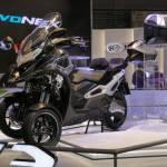 Saingi Yamaha, Kymco Kenalkan Skutik Roda 3 Canggih