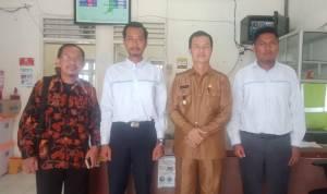 Peduli Terang, Wakil Bupati Nias Utara Kunjungi Kantor PLN Nias