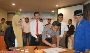 Diawali Penyuluhan Anti Penyalahgunaan Narkoba, Prosesi Pelantikan Pengurus PPWI Surabaya Berlangsung Lancar
