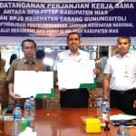 Tegakkan Kepatuhan Badan Usaha, BPJS Kesehatan Gandeng Dinas Perizinan Kabupaten Nias